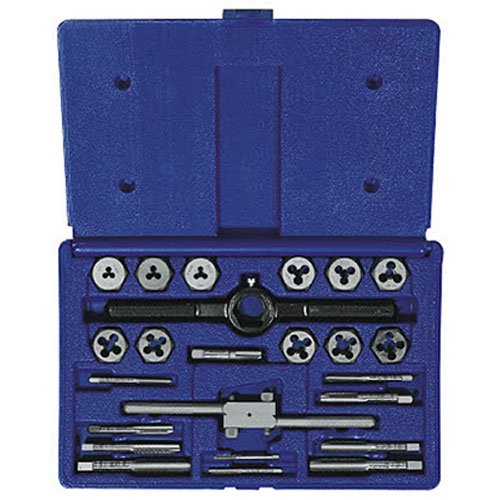 Irwin Industrial Tools 26313 Metric Tap and Hex Die Set, 24-Piece