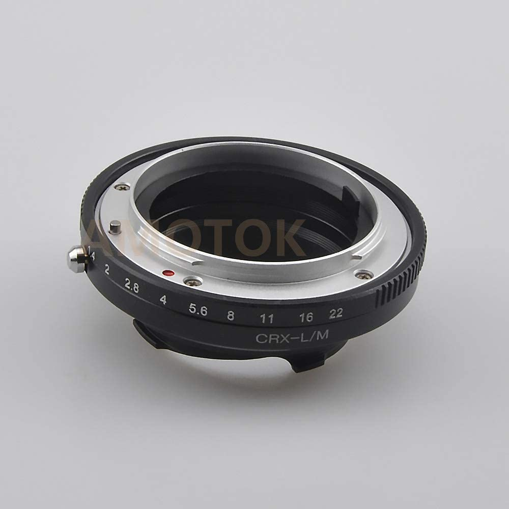 ALPA to LM Lens Adapter ALPA Mount Lens to for Leica M L//M M9 M8 M7 M6 M5 Compatible TECHART LM-EA 7 Adapter