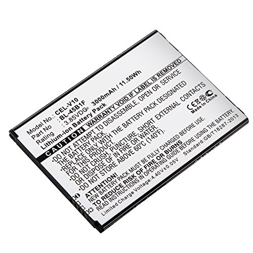 Cel Cellular Battery - Dantona CEL-V10 Lithium, Lithium Ion (ICR/CGR/LIR) 3.85 Volts Cell Phone Battery