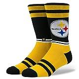 Stance M558C18LST Men's Steelers Logo Sock