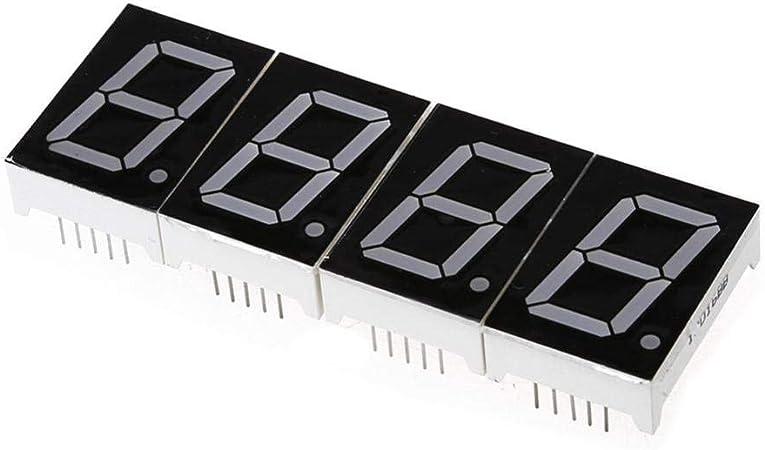 Alarmclocker8B DIY Digital LED Kit de Reloj de Pantalla Grande con Estuche Rojo: Amazon.es: Hogar