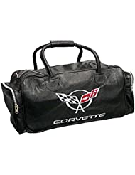 Corvette C5 Embroidered Duffle / Travel Bag All Black