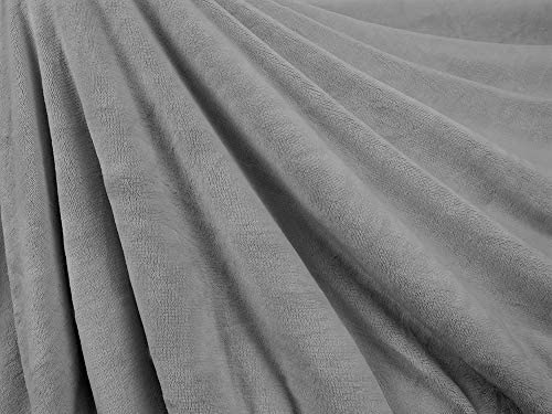 PetAmi - Manta impermeable para perros medianos, cachorros, gatos pequeños, manta suave de forro polar Sherpa para sofá, sofá | funda de cama para mascotas gruesa y duradera, alfombrilla para piso de 76 x 101 cm (ceniza) 6