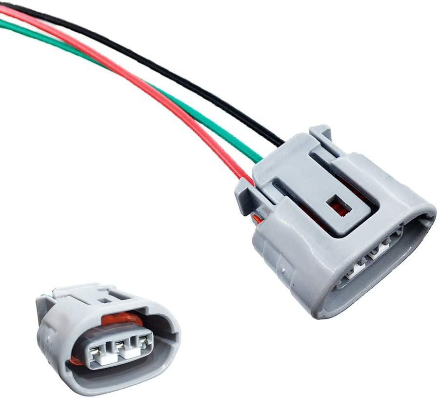 Amazon.com: 3 Wires Alternator Regulator Harness Plug Lead Wire ... alternator diagram Amazon.com