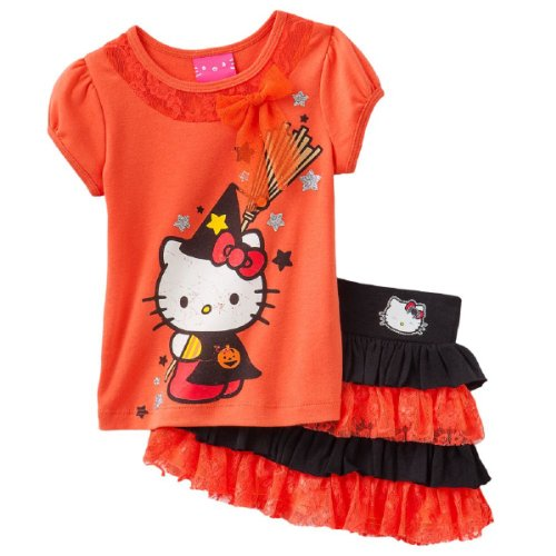Hello Kitty Toddler Little Girls' Broom Tutu Scooter & Te...