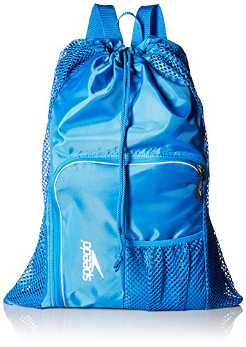 Speedo Deluxe Ventilator Mesh Equipment Bag, Imperial Blue -