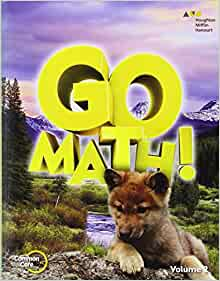 Amazon.com: Go Math!: Student Edition Volume 2 Grade 1 ...