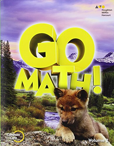 Go Math!: Student Edition Volume 2 Grade 1 2015