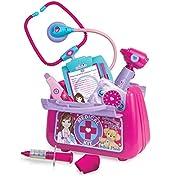 Sophia's Child Sized Doctor Set Pretend, Pink, Purple