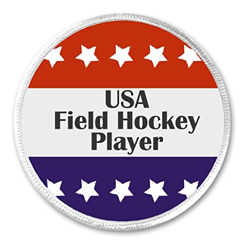 - USA Field Hockey Player Red White Blue Stars 3