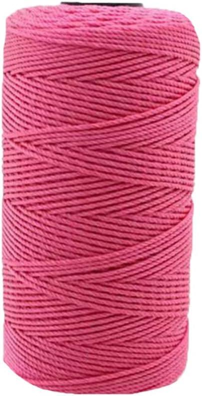 Artiste #2 Nylon Thread Cord Crochet Knitting Jewelry Weaving Warp ROSE PINK