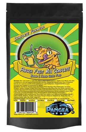 51RsQUQxh9L - Pangea Banana/Papaya Fruit Mix Complete Crested Gecko Food, 2 oz.