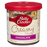Betty Crocker Gluten Free Chocolate Creamy Deluxe Frosting, 450 Gram