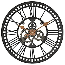 FirsTime Roman Gear Wall Clock