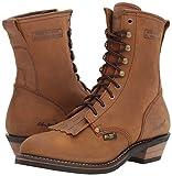 """Ad Tec Men's 9"""" Packer Premium Full Boot, Chestnut"""