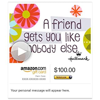 Amazon Gift Card - Email - A Friend Gets You (Animated) [Hallmark] (B00H5BNC70) | Amazon price tracker / tracking, Amazon price history charts, Amazon price watches, Amazon price drop alerts