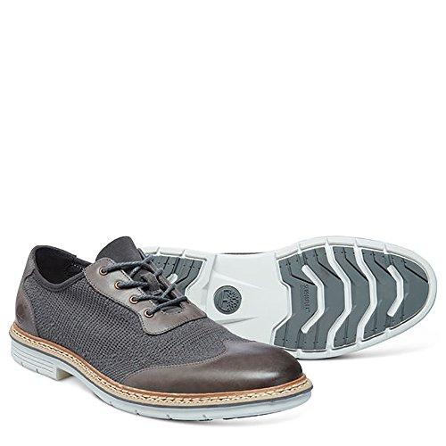 CA13RRGREY Scarpa classica da uomo colore grigio Grigio 42