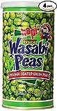 Hapi Snacks Wasabi Peas, Hot, 9.9 Oz (Pack Of 4)