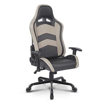 Gaming Ikayaa Schreibtischstuhl Mit Chefsessel Armlehnen 9273 Büro D Stuhl SGjUMzLqVp