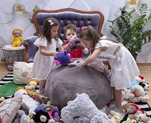 Amazon.com: Kroco Luxury Edition - Funda para puf de juguete ...