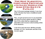 img - for The Best Marketing, Godfather Principles and Sales Models for Kids DVDs Biz 3 CD Package book / textbook / text book