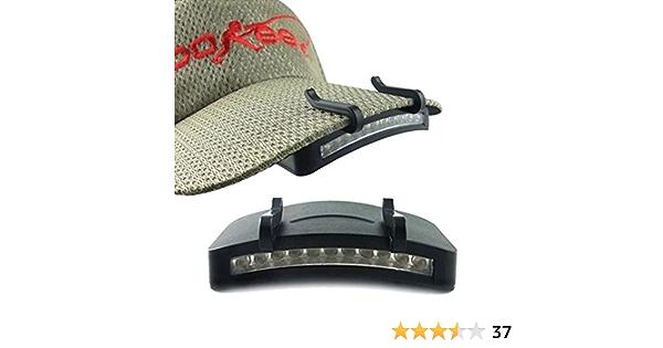 11 LED Hard Light Camping Clip-On Cap//Hat Light Cycling Hiking Camping P1Q5 C9P7