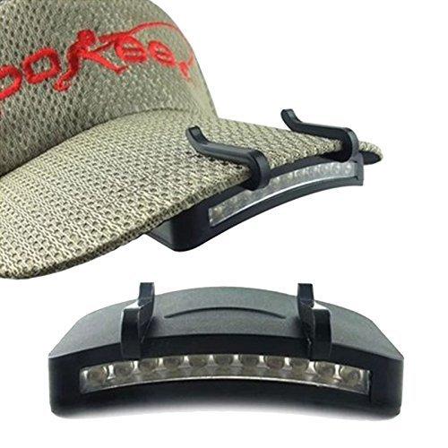 Cap Flashlight - Camping Hat Light - 11 LED Headlight HeadLamp Flashlight Cap Hat Torch Head Light Lamp Outdoor Fishing Camping Hunting Clip-On Super Bright