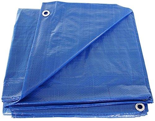 ALEKO TR20X40SL Multi-Purpose Polyethylene Plastic Tarp Waterproof for Camping Automotive Construction 20 x 40 Feet Silver