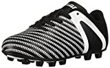 Vizari Unisex Impact FG Soccer Shoe, Black/White, 4.5 Regular US Big Kid