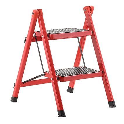 Pleasing Amazon Com Lxf Step Stool Step Stool Compact Anti Slip Mat Customarchery Wood Chair Design Ideas Customarcherynet