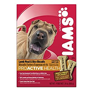Amazon.com : IAMS PROACTIVE HEALTH Adult Biscuits Lamb