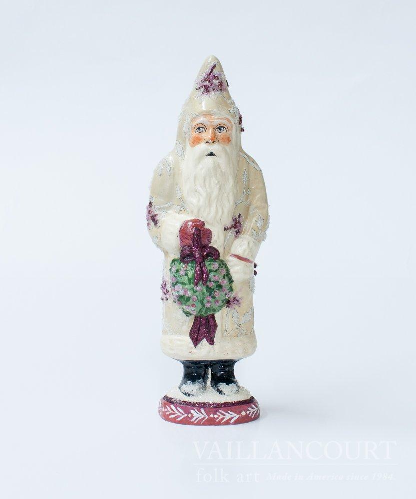 Santa with Peony Coat