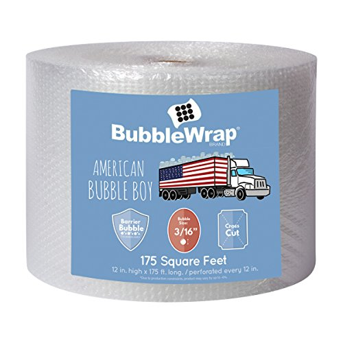 Scotch Bubble Wrap - American Bubble Boy Bubble Wrap Bubble Wrap 175' Bubble Bundle For Packing, Shipping, Moving By American Bubble Boy