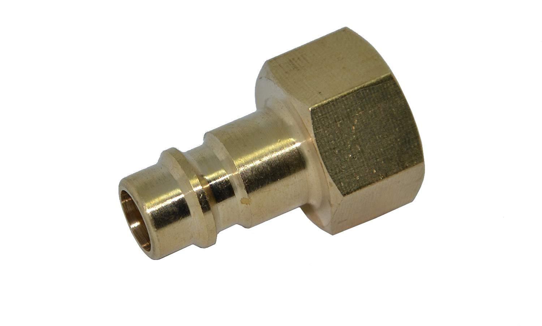 9 13mm Stecker Aussengewinde 1//4 Druckluft Stecknippel Standard Nennweite 7,2 f/ür Schlauchinnendurchmesser 6