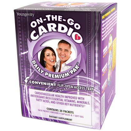 On-The-Go Cardio Daily Premium Pak - 30 travel packets - 2 Pack by Youngevity