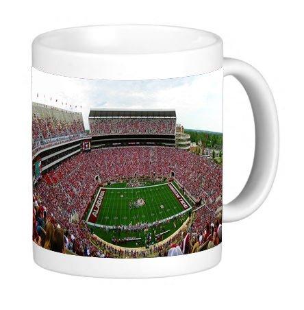 Stadium Mug - University of Alabama Bryant-Denny Stadium 11 ounce Ceramic Coffee Mug Tea Cup