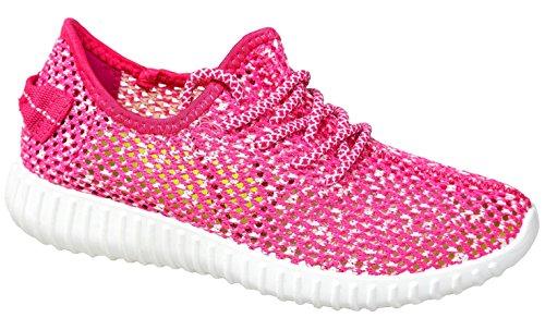 gibra - Zapatillas de tela para mujer Rosa - rosa