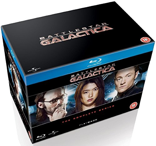 Battlestar Galactica  The Complete Series  Blu Ray  Packaging May Vary