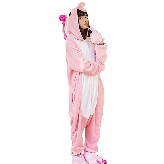 Sconosciuto - Pijama de una pieza - para mujer rosa Rosa
