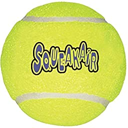 KONG Air Dog Squeaker Ball for Dogs, X-Large, 2 Piece