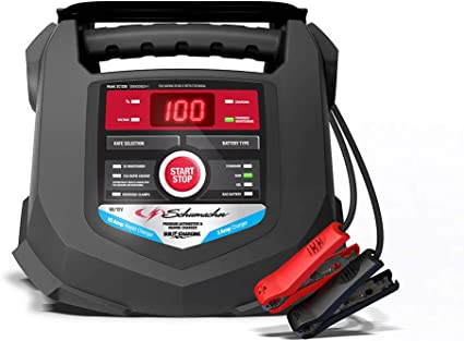 Amazon.com: Schumacher Cargador de batería rápido y ...