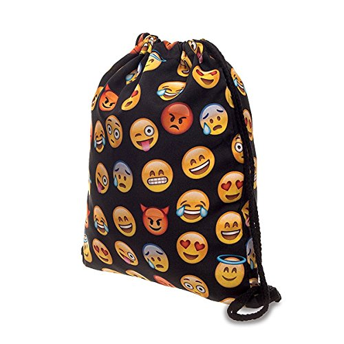 Travelmall Drawstring Backpack College Sackpack