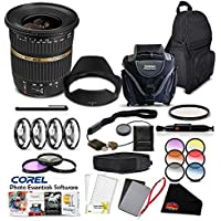 Tamron SP AF 10-24mm f/3.5-4.5 DI II Lens (International Version)(No Warranty) For Canon Pro Accessory Kit