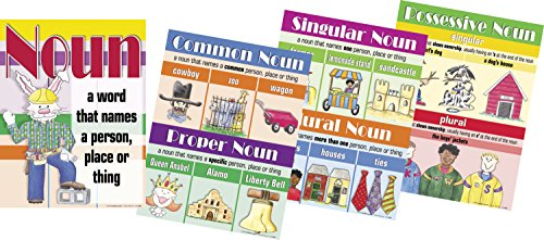Common And Proper Noun (Barker Creek Nouns Chart Set, 17