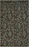 Safavieh Soho Collection SOH214B Handmade Brown and Light Blue Premium Wool Area Rug (2′ x 3′) Review