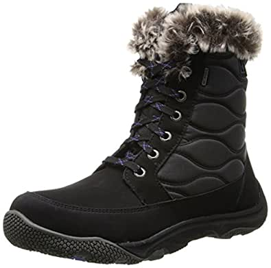 Amazon.com | Sperry Women's Winter Cove Snow Boot, Black