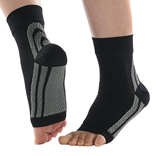 5bfaf5ac06 Là Vestmon Plantar Fasciitis Socks, Compression Foot Sleeves for Men &  Women, Ankle Brace