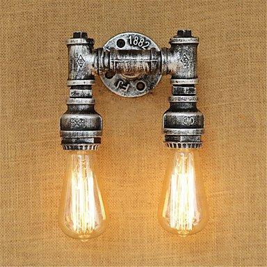 HUZHUANGZHUANG HZZymj-AC 110-130 AC 220-240 80 E26 E27 Rustikal Ländlich Rustikal Retro Korrektur Artikel Eigenschaft for Ministil Birne inklusive,Ambientelicht, Silber