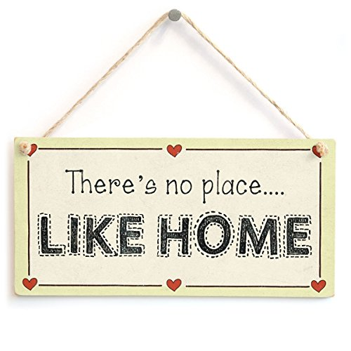 Meijiafei There's no Place Like Home - Welcome Home Love Heart Sign 10