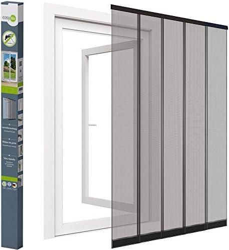 Mosquitera cortina de láminas para puertas - 125 x 240 cm ...